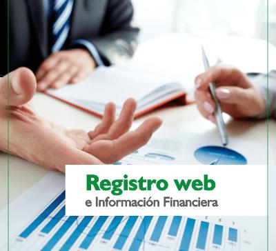 3. Información financiera (hover)